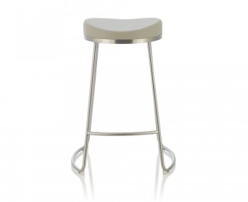 Marcus Grey Faux Leather Bar Stools
