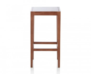 Peterborough Walnut Wooden Bar Stool