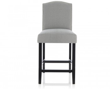 Larix Monochrome Fabric Bar Chairs