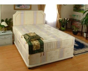 Divan beds base only single double king size storage for Double divan bed set