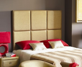 Manhattan Wall Hung Fabric Headboard - Options