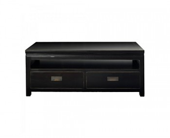 Orient Small Black Lacquer TV Unit