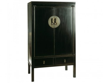 Orient Black TV Cabinet