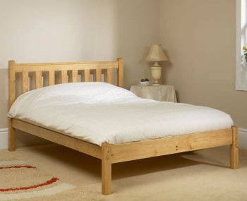 Shaker Pine Low Foot End Bed Frame