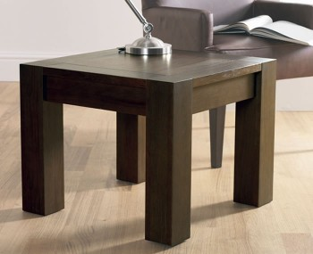 Lyon Walnut Lamp Table