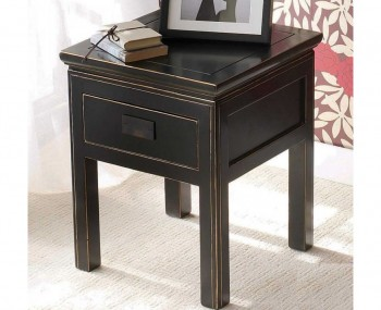 Orient Black Lamp Table