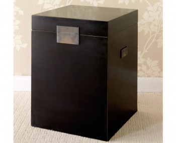 Orient Black Storage Table