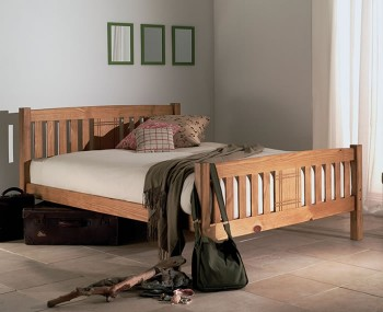 Sedna Honey Bed Frame