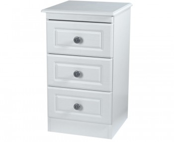 Snowdon 3 Drawer Bedside Chest