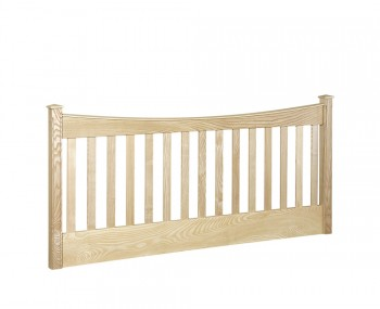 Looe Slatted Wooden Headboard