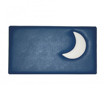 Moon Kids Faux Leather Headboard