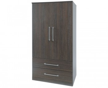 Cuban Dark Oak Kids Wardrobe