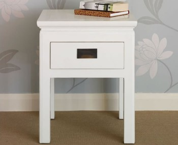 Peking Off-White Lamp Table