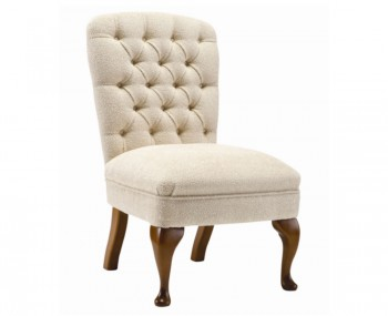 Roma Traditional Upholstered Bedroom Chair - Over 20 Fabric Choices!