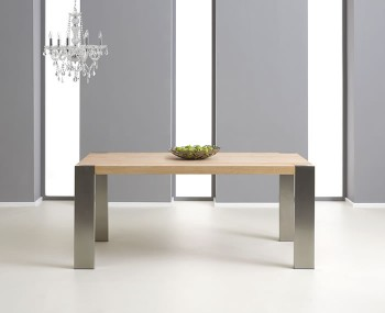 Burlington Oak Extending Dining Table