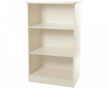 Avimore Cream Wooden Bookcase