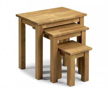 Belstone Oak Nest of Tables