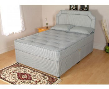 Budget divan bed base only in single and double size for Divan frances