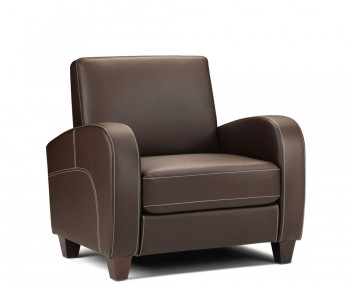 Vivo Faux Leather Arm Chair