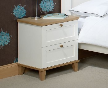 Melrose 2 Drawer Bedside Chest