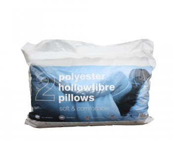 Hollow Fibre Pillows - Pack of 2