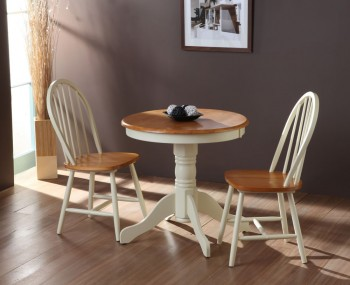 Weald Round Wooden Breakfast Table and Chairs