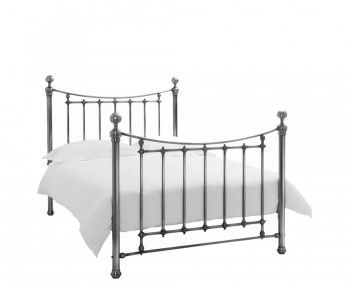 Isabelle Antique Nickel Bedstead