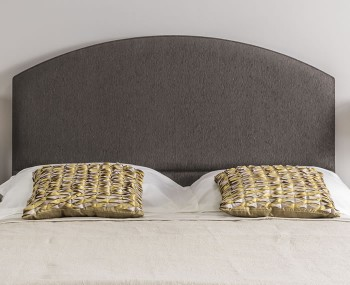 Monaco Dome Shaped Fabric Headboard