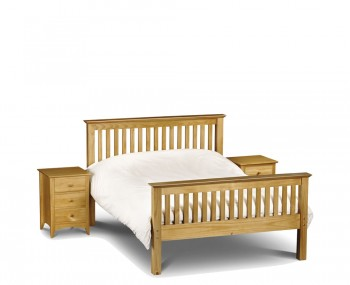 Barcelona Pine High Footend Bed
