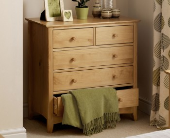 Kendal 3+2 Drawer Solid Pine Chest