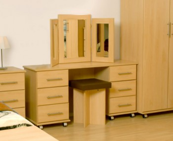 Boston Double Contract Dressing Table