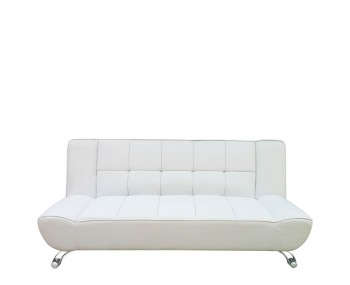 Vogue White Clic-Clac Sofa Bed
