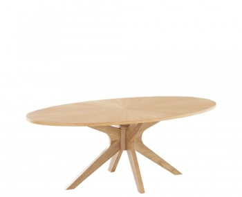 Laxa Oak Coffee Table