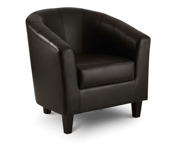 Burgos Faux Leather Tub Chair