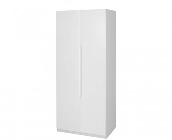 Trend 2 Door Tall White High Gloss Wardrobe