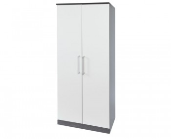Havana White 2 Door Fronted Wardrobes