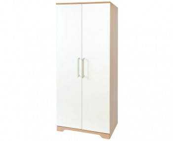 Chiltern 2 Door White & Oak Effect Wardrobes