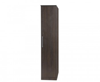 Cuban 1 Door Dark Oak Wardrobe