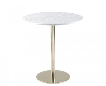 Cordova Round Marble Bar Table