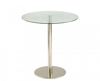 Zamora Round Glass Bar Table