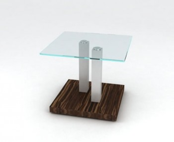 Newark Glass Lamp Table