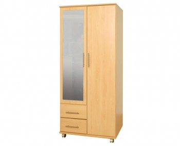 Boston 2 Door Combi Contract Wardrobes