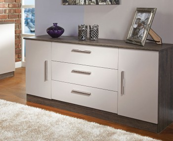 Ronda Mushroom 2 Door 3 Drawer Sideboards