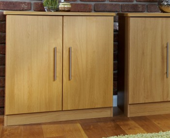 Siero Oak 2 Door Sideboard
