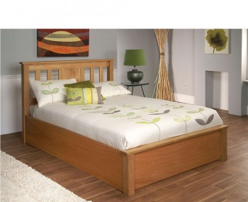 Cannes Wooden Ottoman Bed Frame
