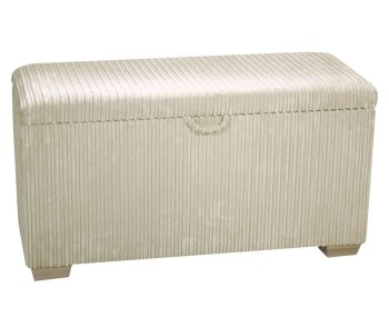 Rochelle Soft Touch Upholstered Ottoman