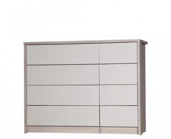 Affinity 8 Drawer High Gloss Wide Chest