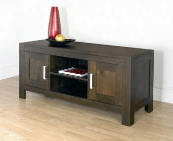 Lyon Walnut Large Entertainment Unit