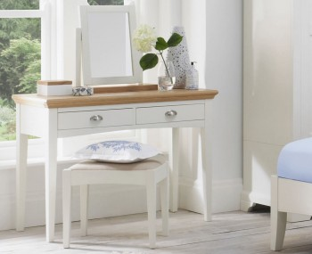 Hampstead Single Two-Tone Dressing Table