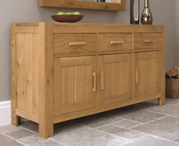 Lyon Oak Large Sideboard
